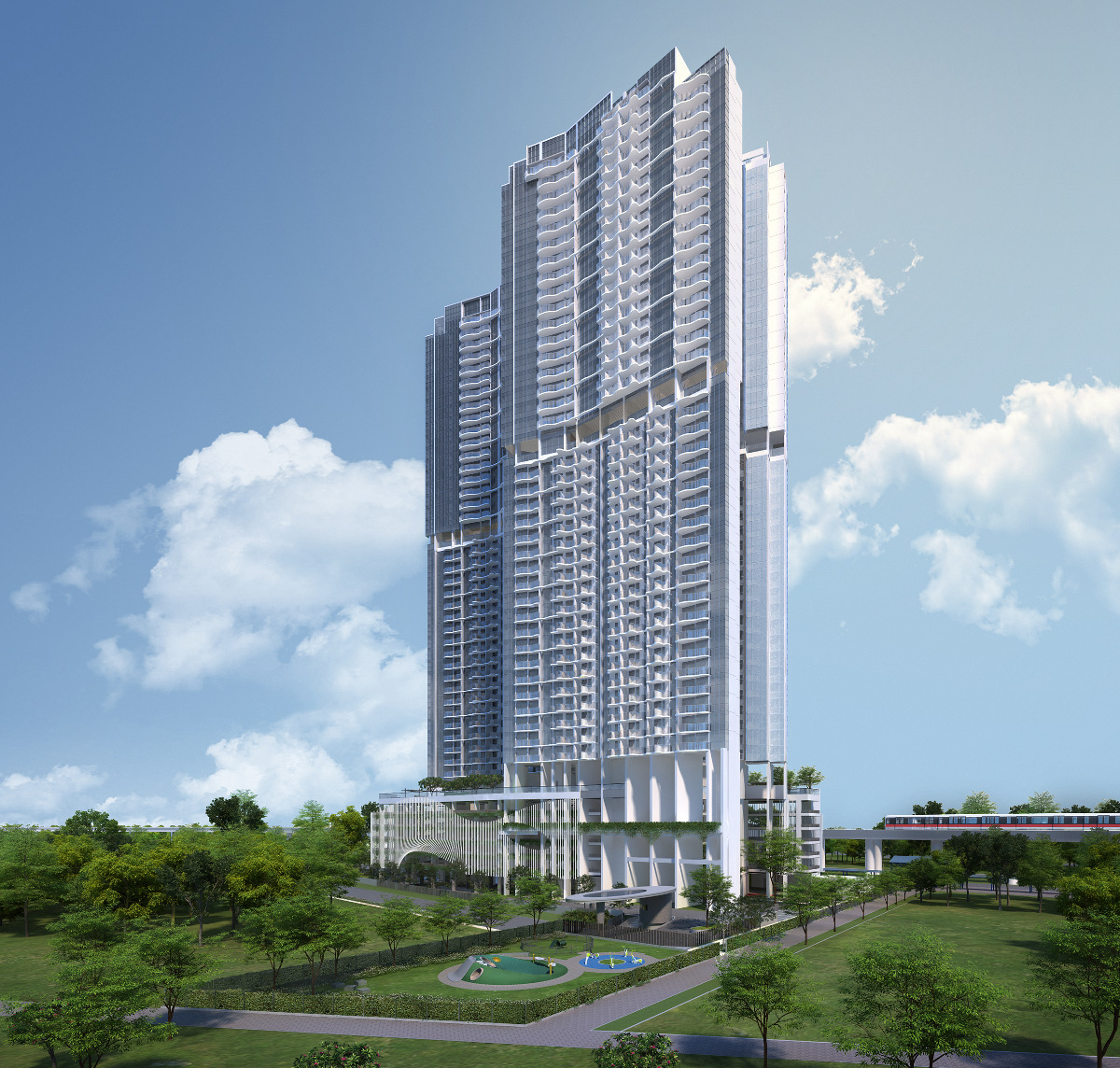 Queens Peak Condo @ Queenstown MRT Station