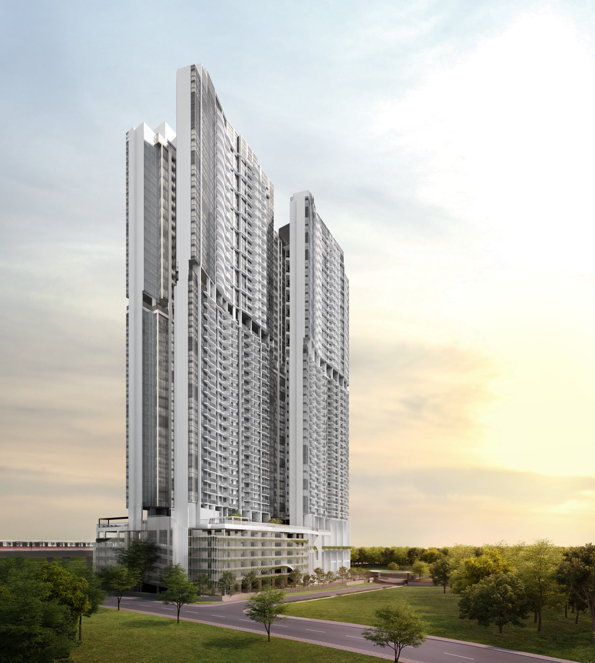 Queens Peak Towers . Queens Peak Floor Plans